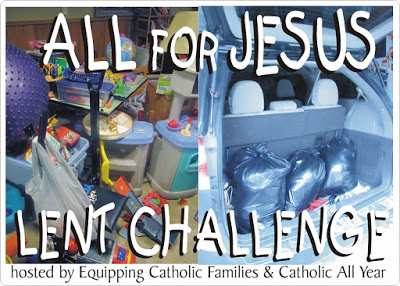 Lent Challenge to Myself and You (There Will Be Prizes)