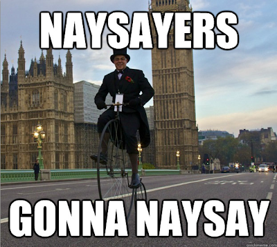 Naysayers Gonna Naysay: 7 Quick Takes XXXI