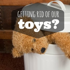 In Which I Get Rid of Our Toys