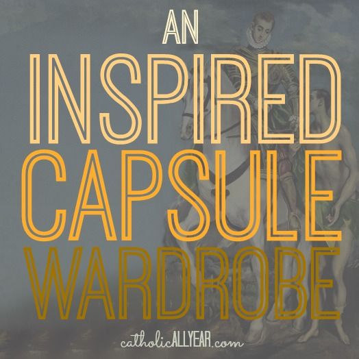 An Inspired Capsule Wardrobe