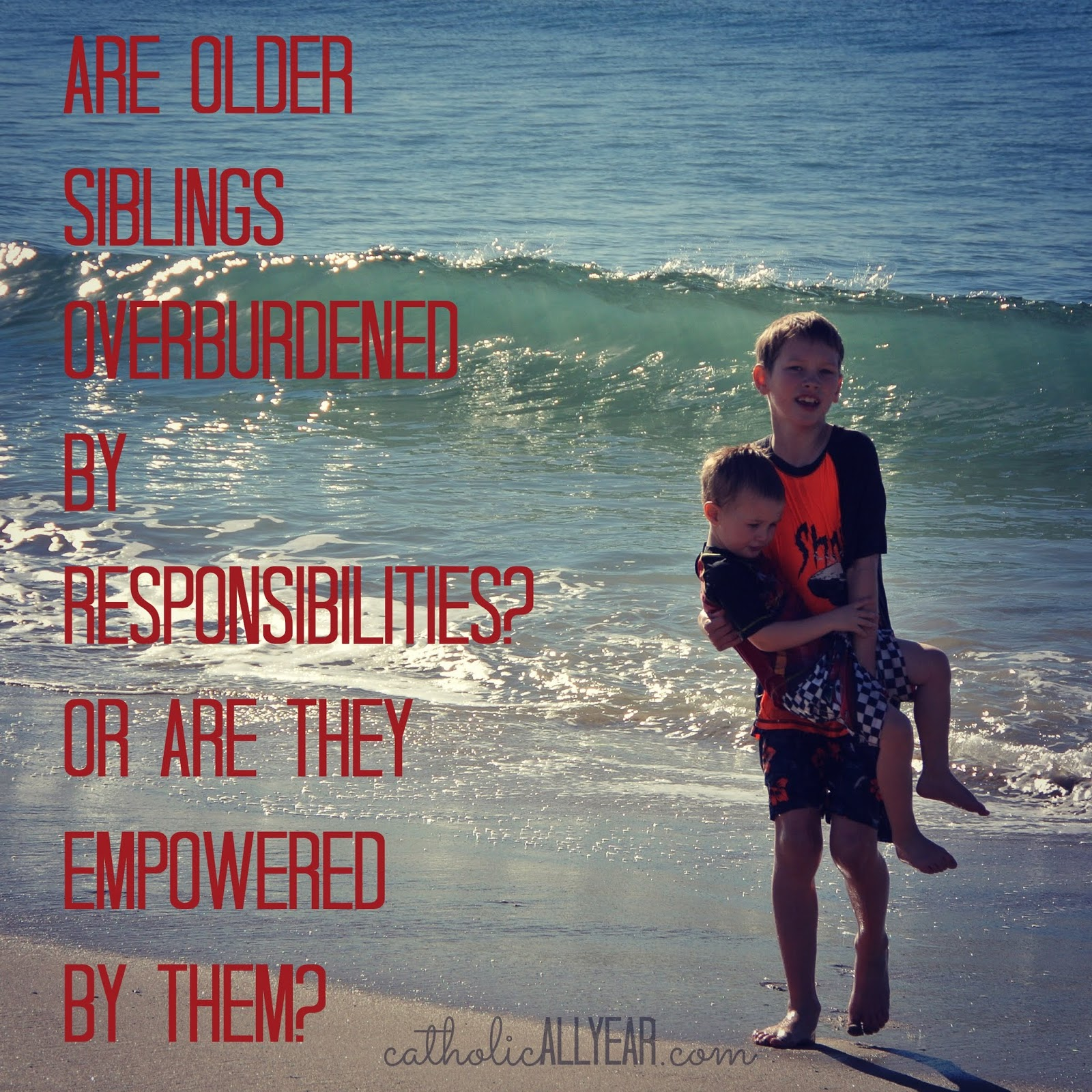 Are Older Siblings Overburdened by Responsibilities? Or Are They