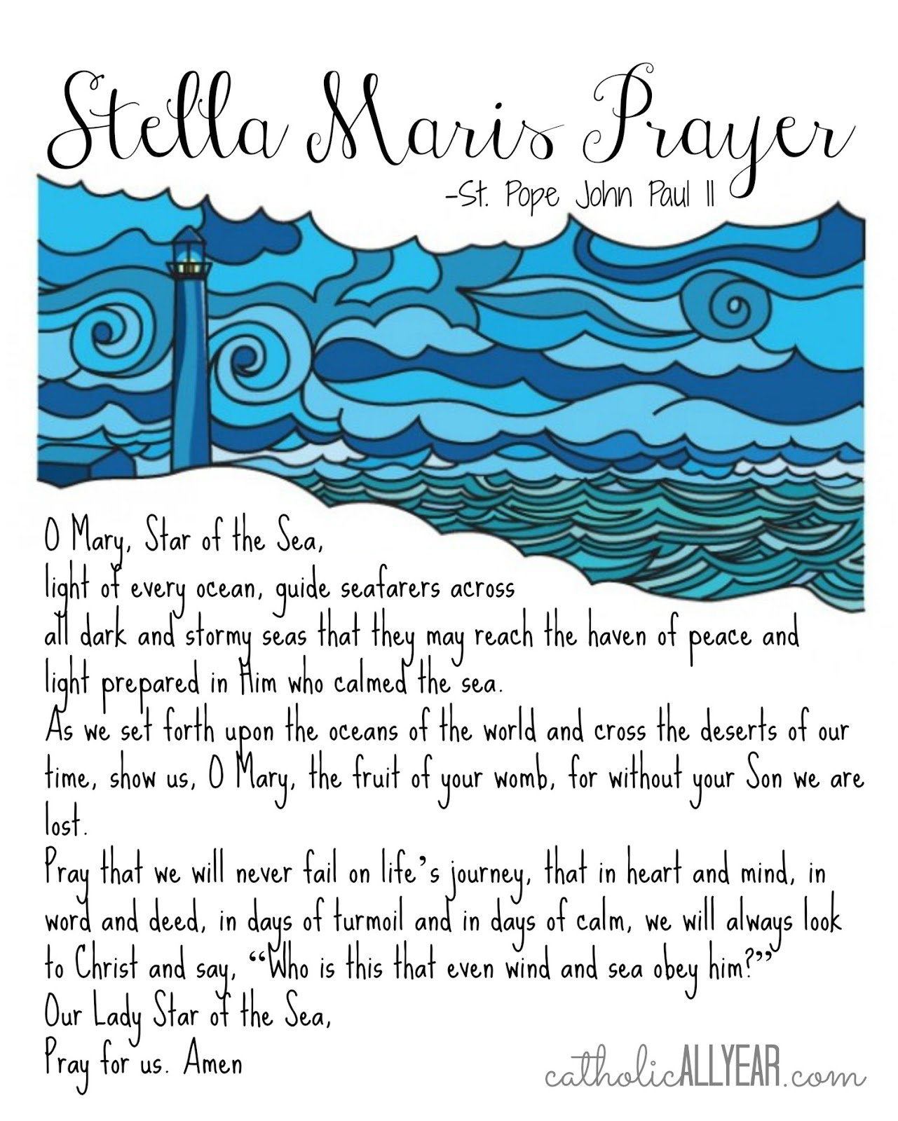This is a photo of Adorable Printable Catholic Prayers