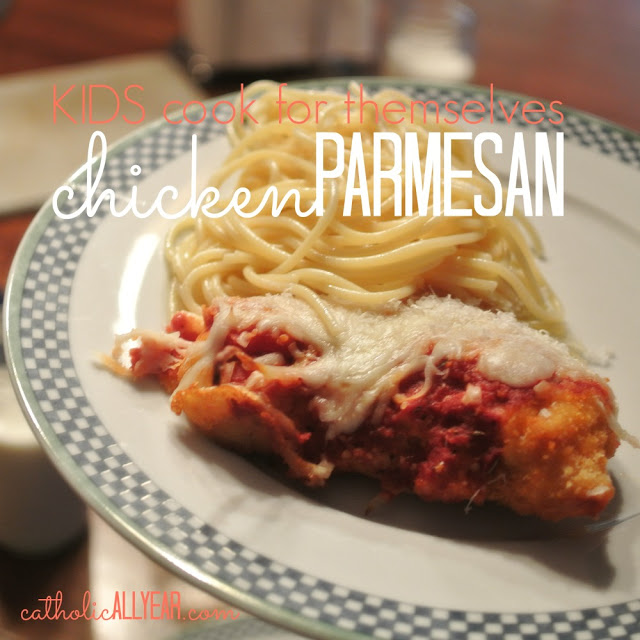 Kids Cook for Themselves: Easy Chicken Parmesan