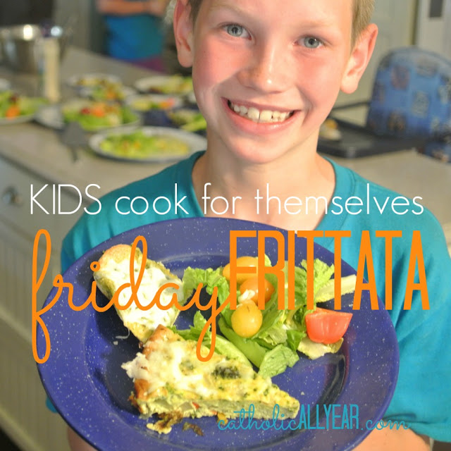 Kids Cook for Themselves: Friday Frittata