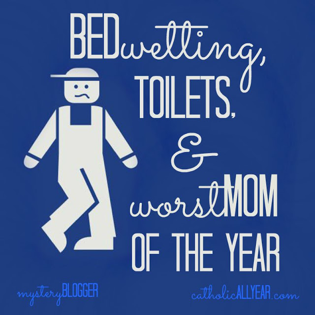 Bedwetting, Toilets, & Worst Mom of the Year: Mystery Blogger Series