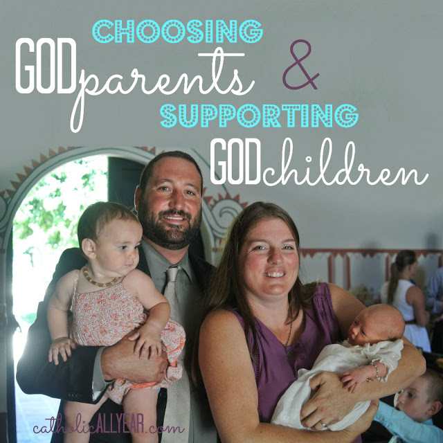 Choosing Godparents & Supporting Godchildren: How We Do It
