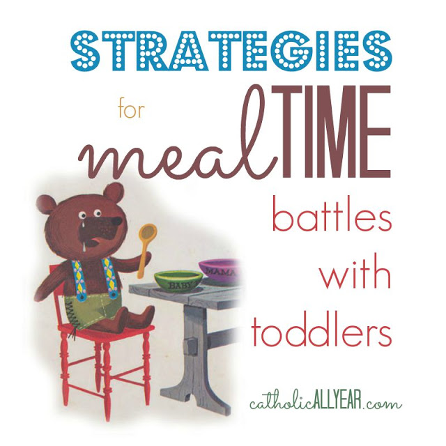 Strategies for Mealtime Battles With Toddlers