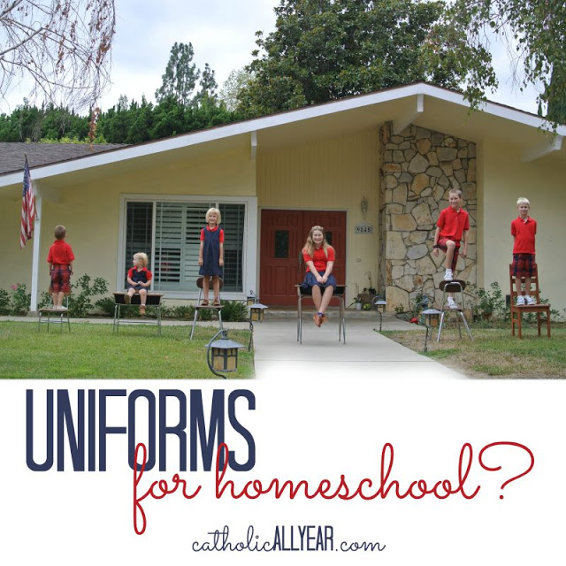 Uniforms for Homeschool? Three reasons why we do.