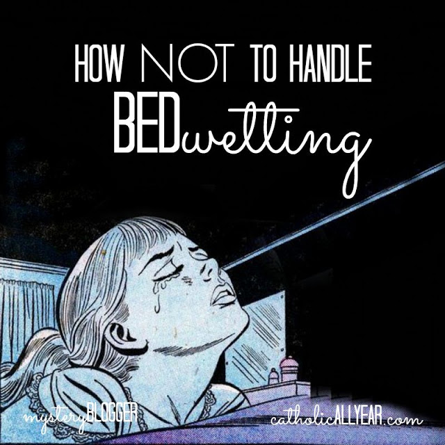 How NOT to Handle Bedwetting: Mystery Blogger