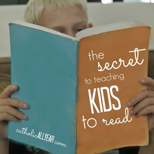 The Secret to Teaching Kids to Read is . . .