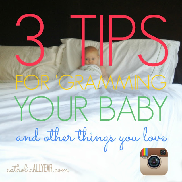 Three Tips for 'Gramming Your Baby and one tip about sheets