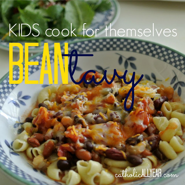Kids Cook for Themselves: Bean Tavy