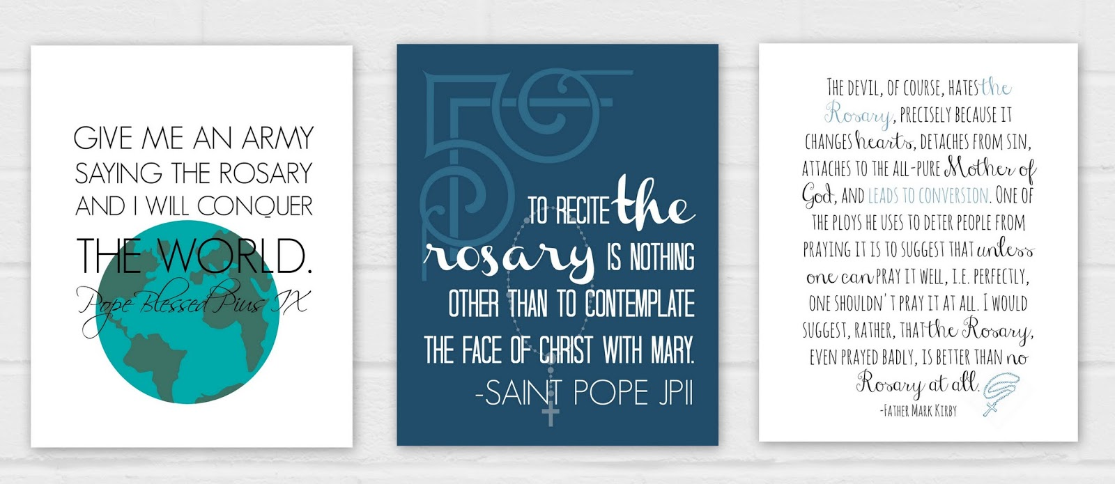 graphic about 54 Day Rosary Novena Printable identified as Why I Trouble With the Rosary Oct Giveaway Sequence