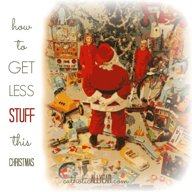 How to Get Less Stuff This Christmas