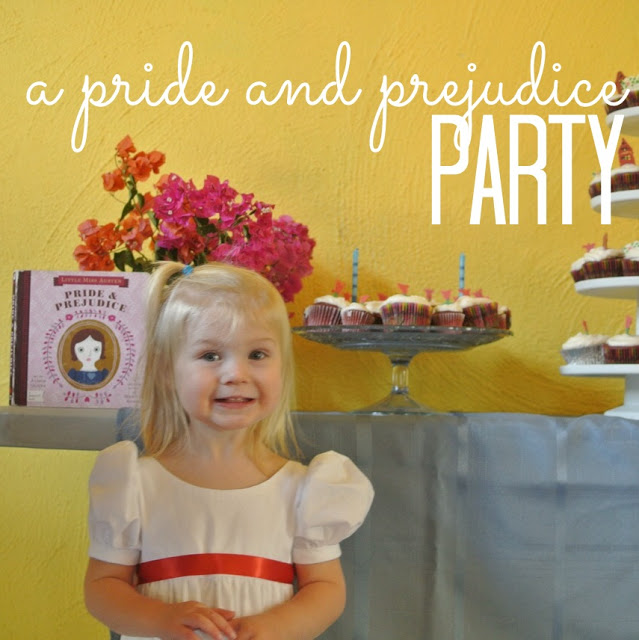 A Pride and Prejudice 2nd Birthday Party to Ardently Admire and Love