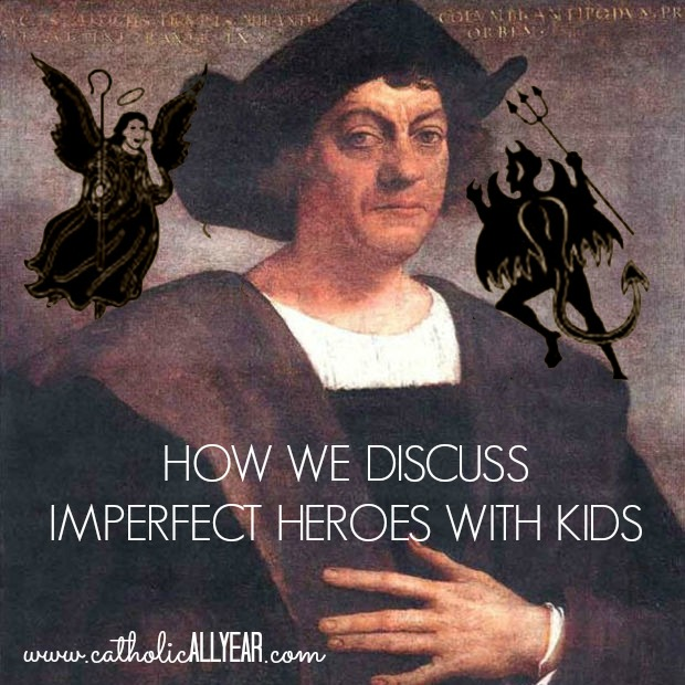 How We Discuss Imperfect Heroes with Kids