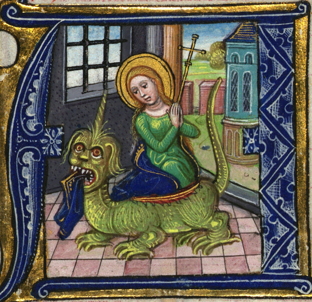 St. Margaret of Antioch Proves That What the Catholic Church Thinks About Women is That They Can Totally Kick Satan's Butt