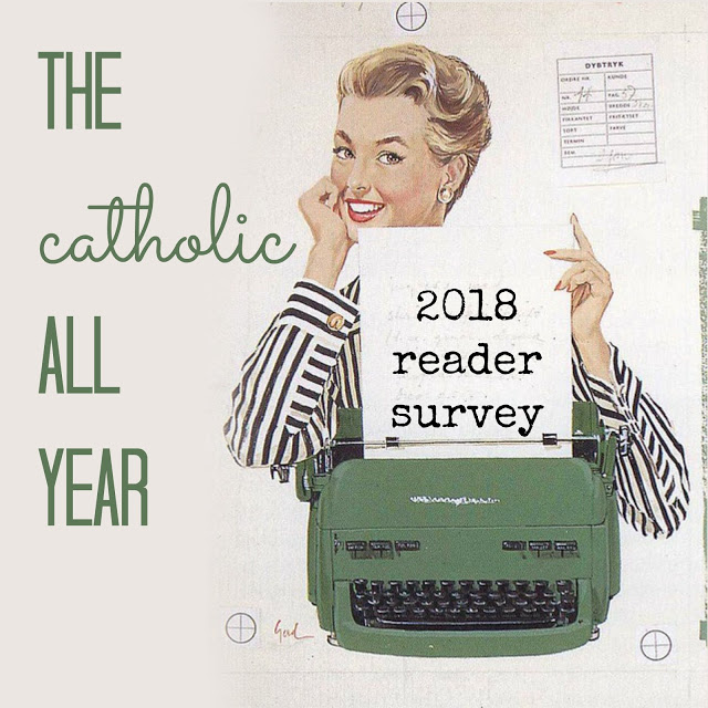 Help ME Help You with the 2018 Catholic All Year Reader Survey and Prayer Book Set Giveaway