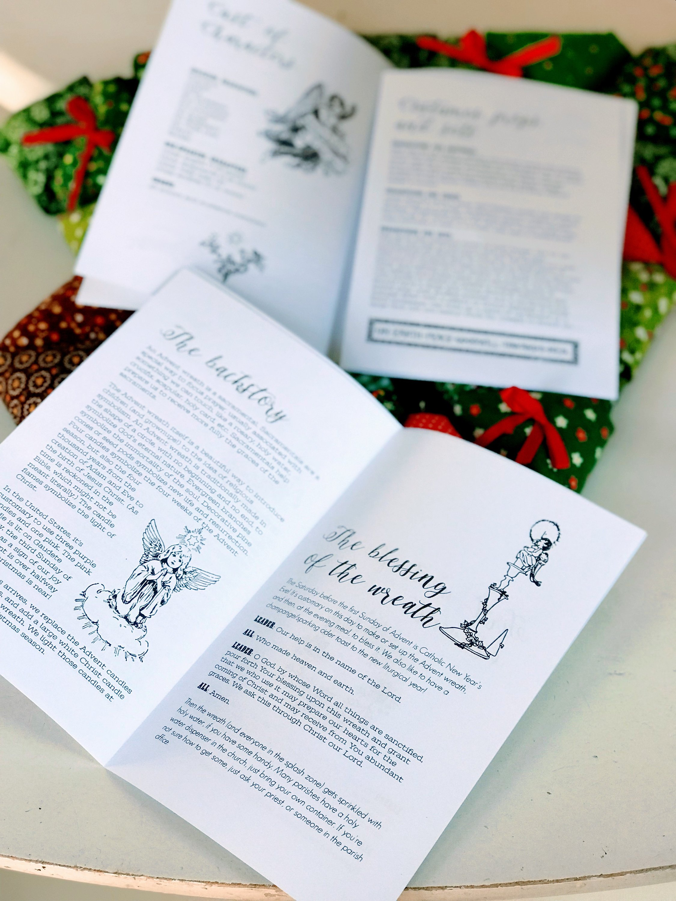 It's just a photo of Effortless Printable Advent Wreath