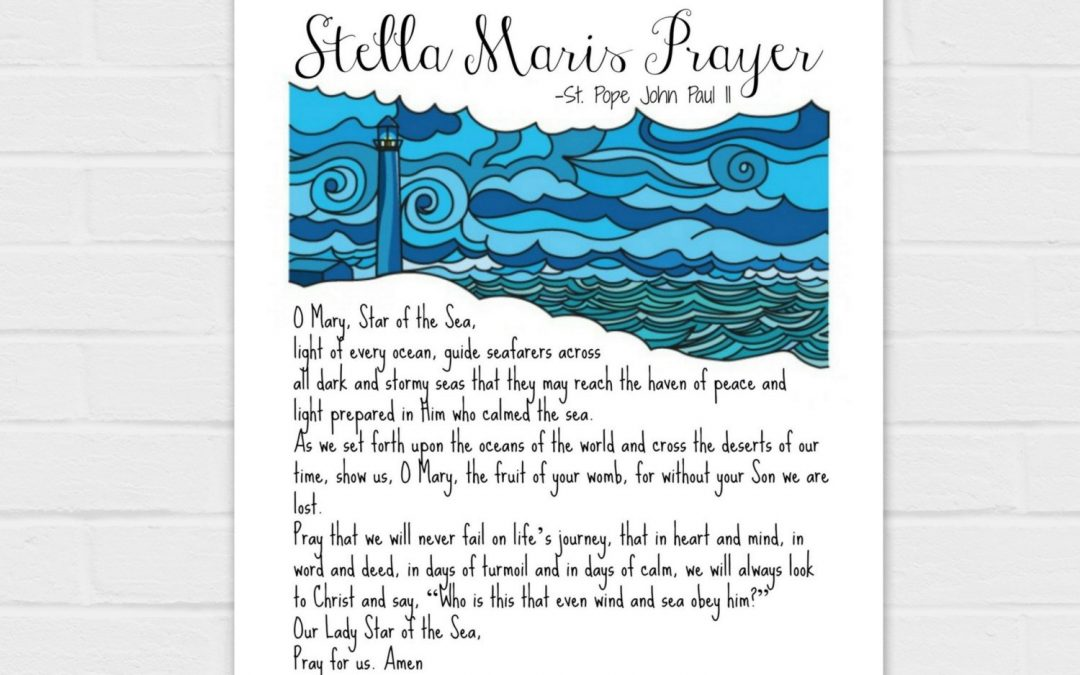 Stella Maris Prayer {digital download}