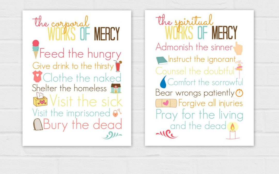 Corporal and Spiritual Works of Mercy Set 8x10s {digital download}