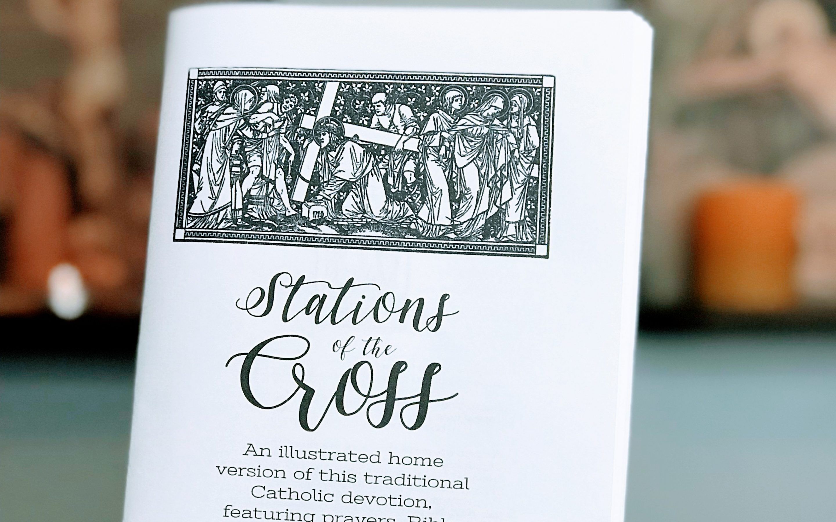 Stations of the Cross Printable Booklet {Digital Download}