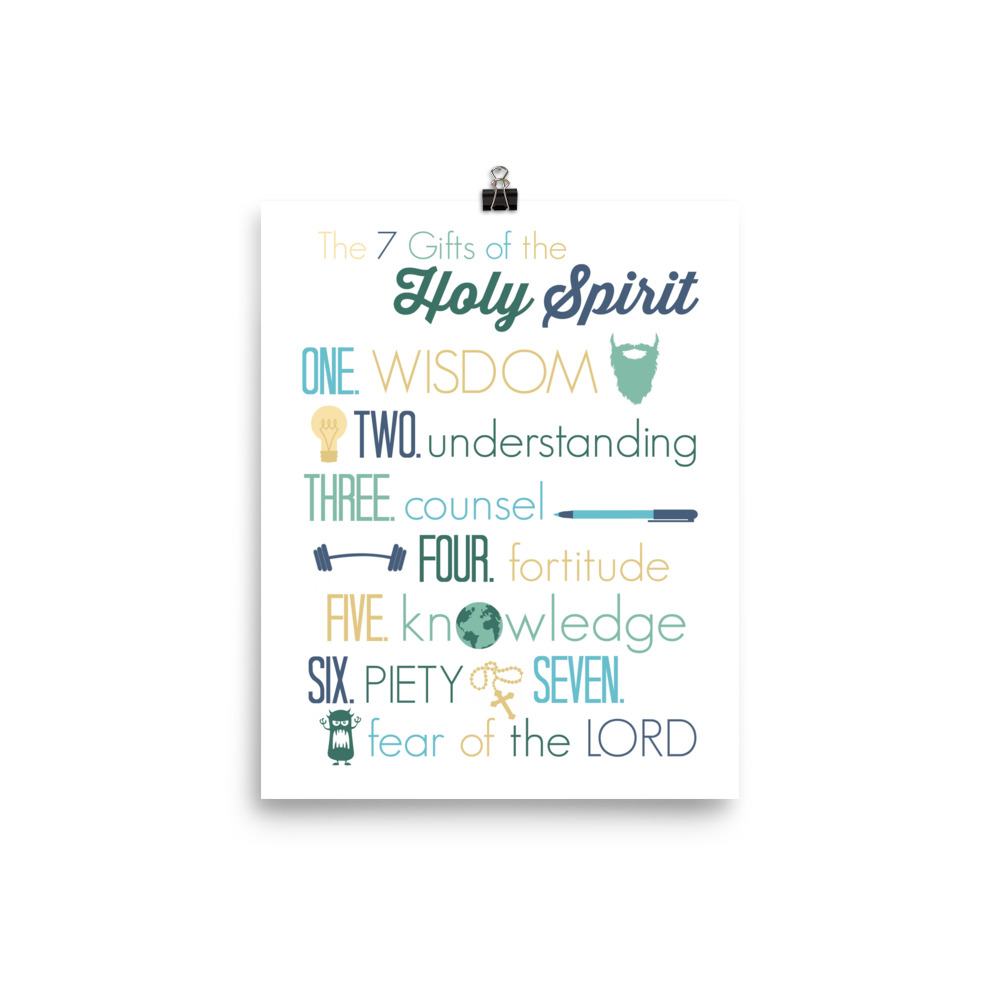 The Gifts of the Spirit Poster