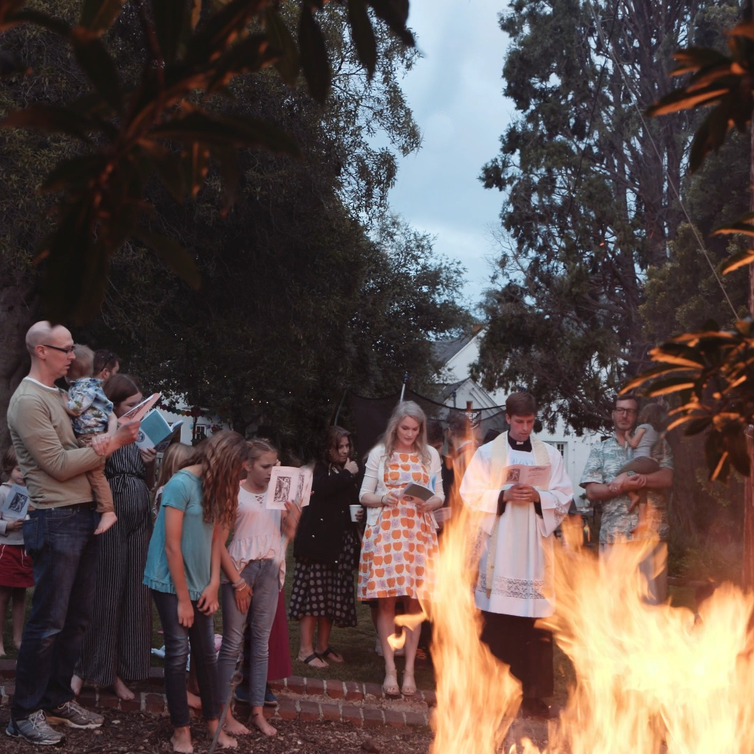 Bonfires, Blessings, and Building Community (also eating actual locusts) for the Feast of the Nativity of St. John the Baptist
