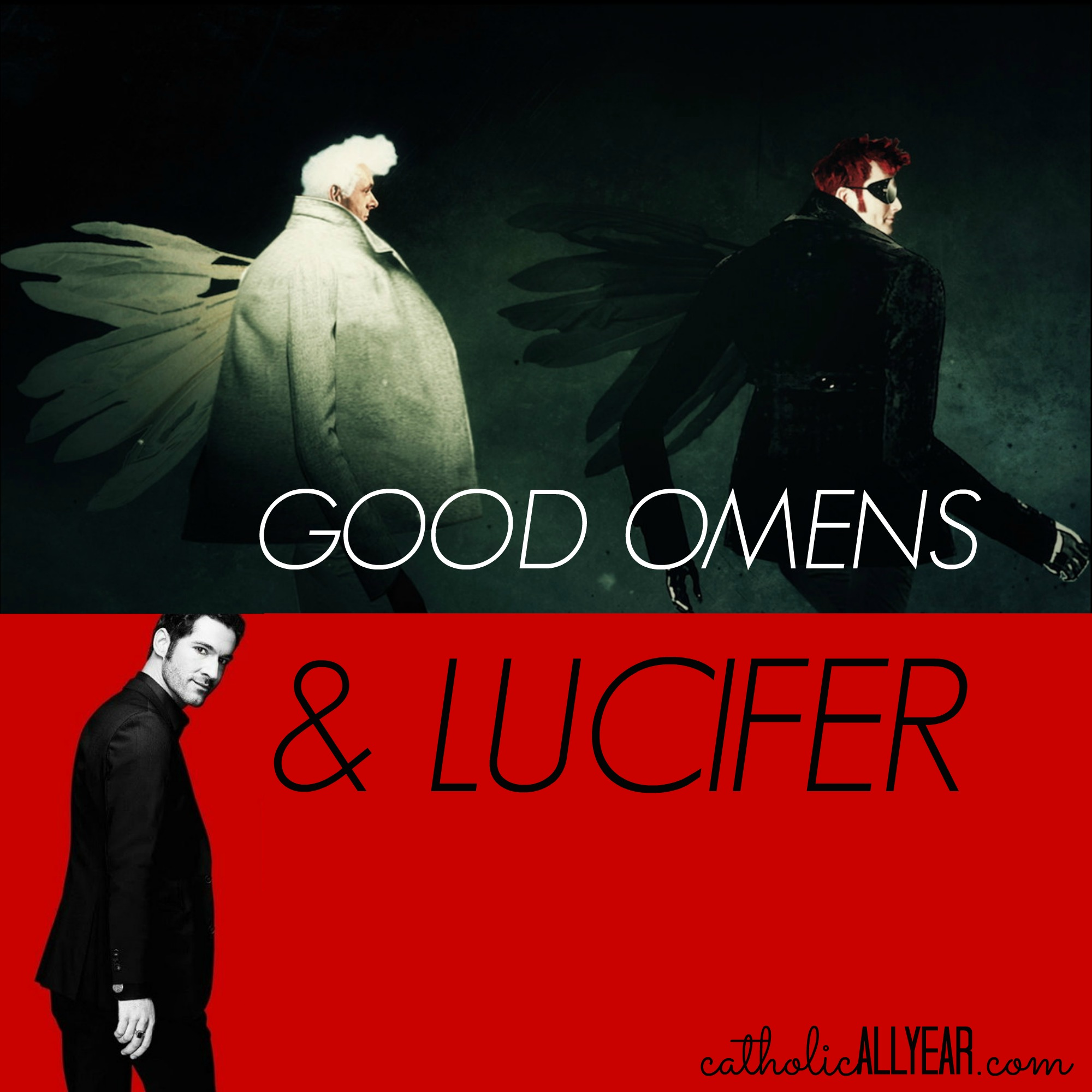 'Good Omens' and 'Lucifer' Are Both Wrong About Angels and Devils, but One of Them Is also Wrong About God and Human Beings