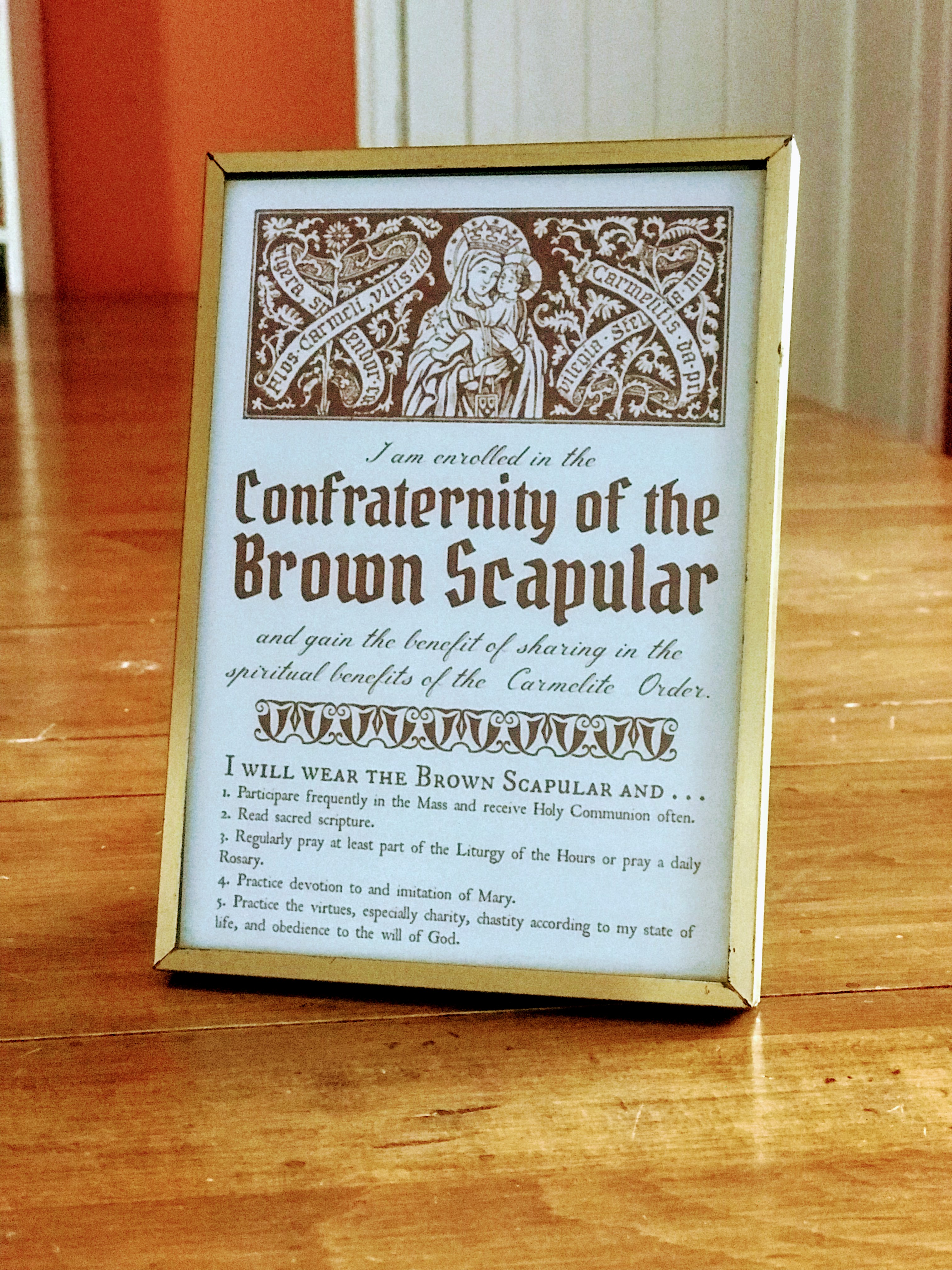 Catholic AudioBook: Miracles Through the Brown Scapular