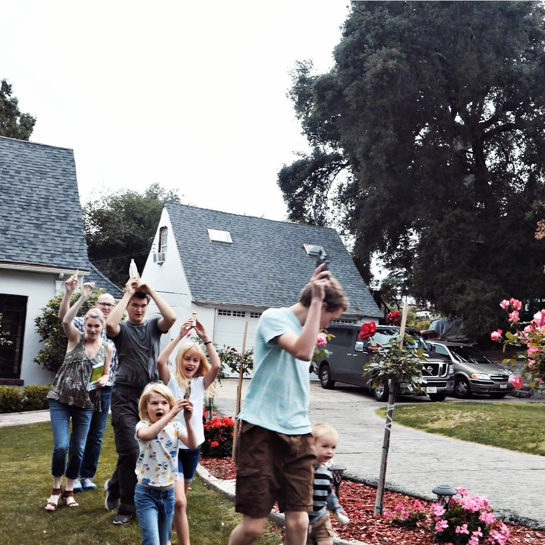 An Easy At Home Marian Procession