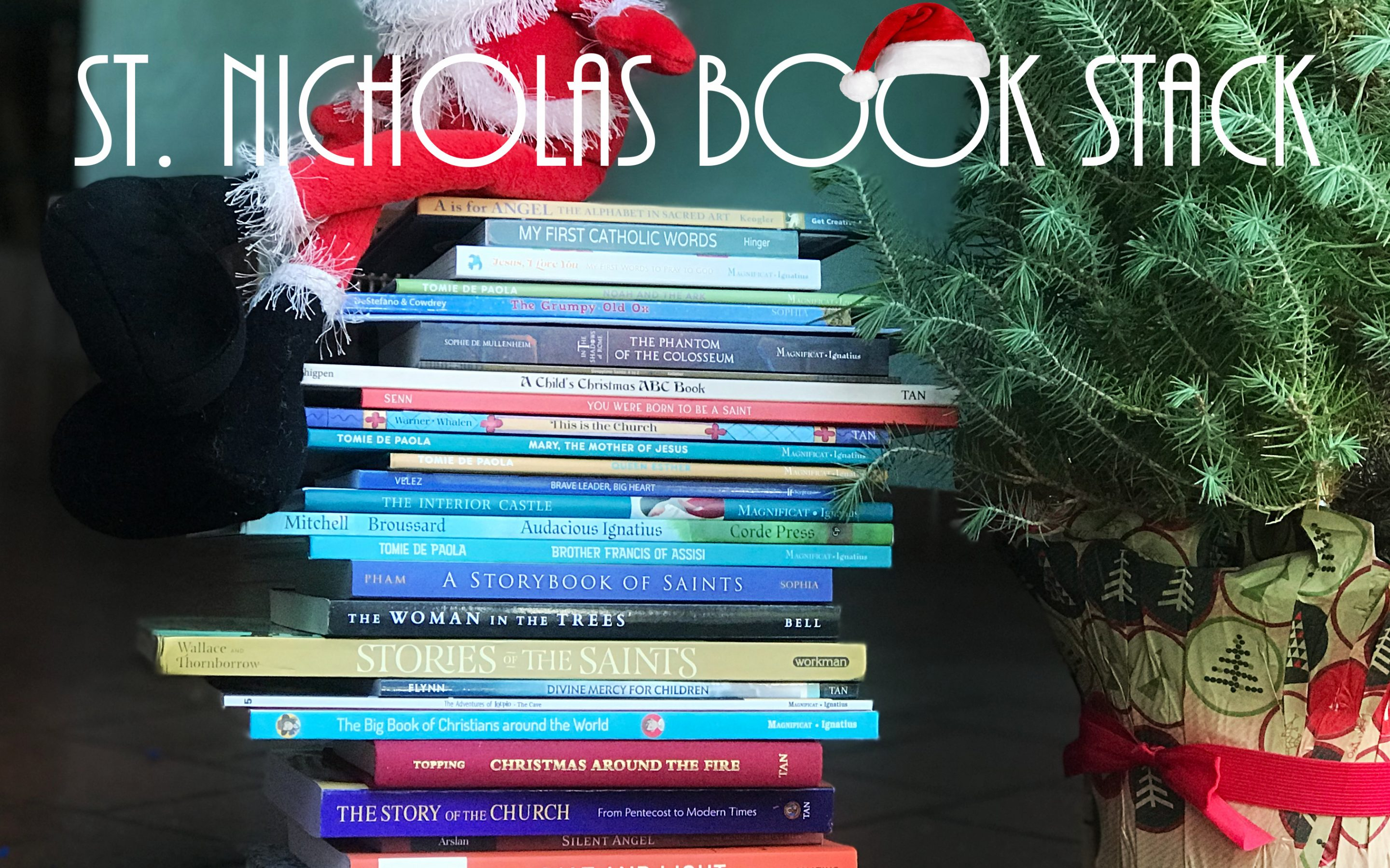 St. Nicholas Catholic Book Stack