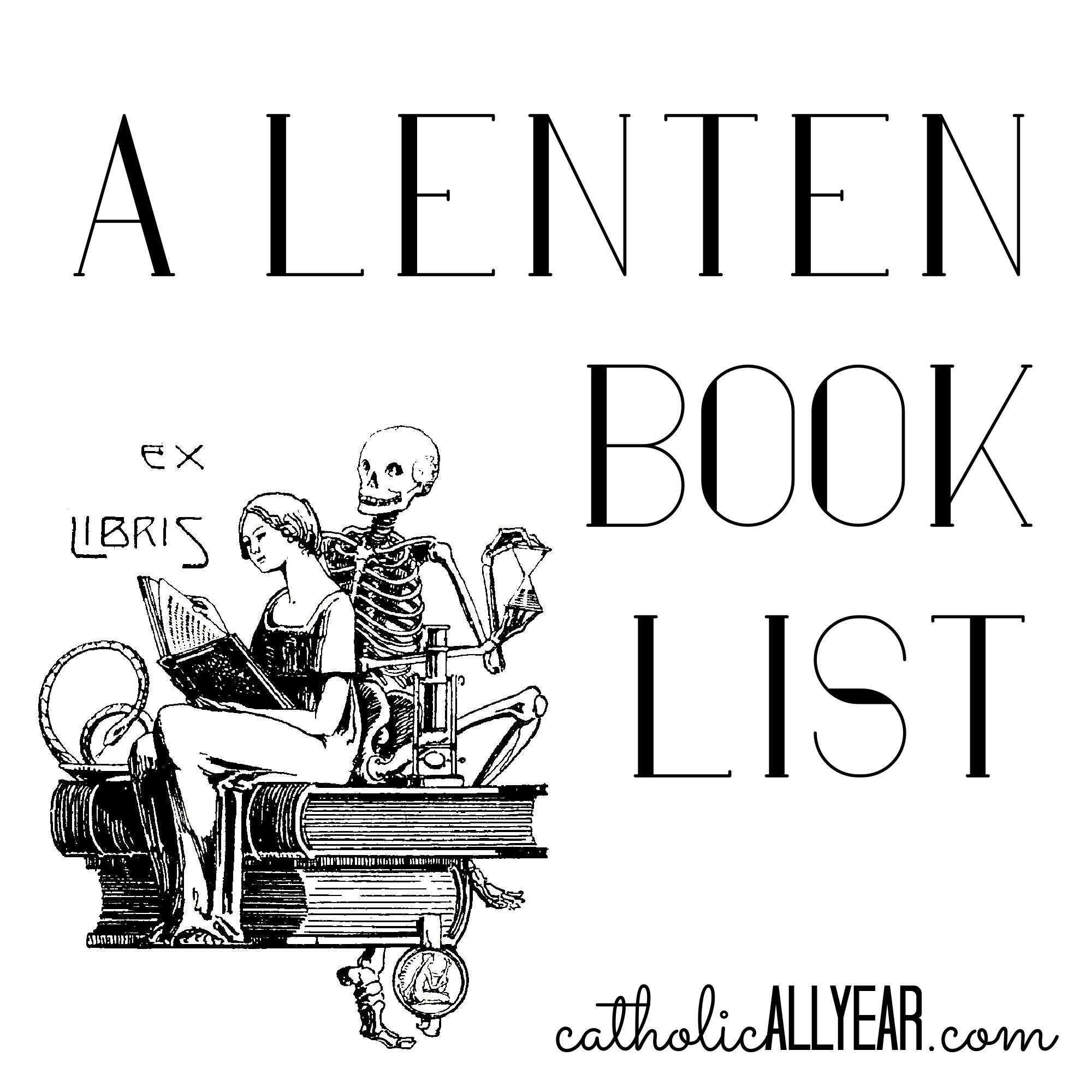 It's Never to Late to Start: A Lenten Book List