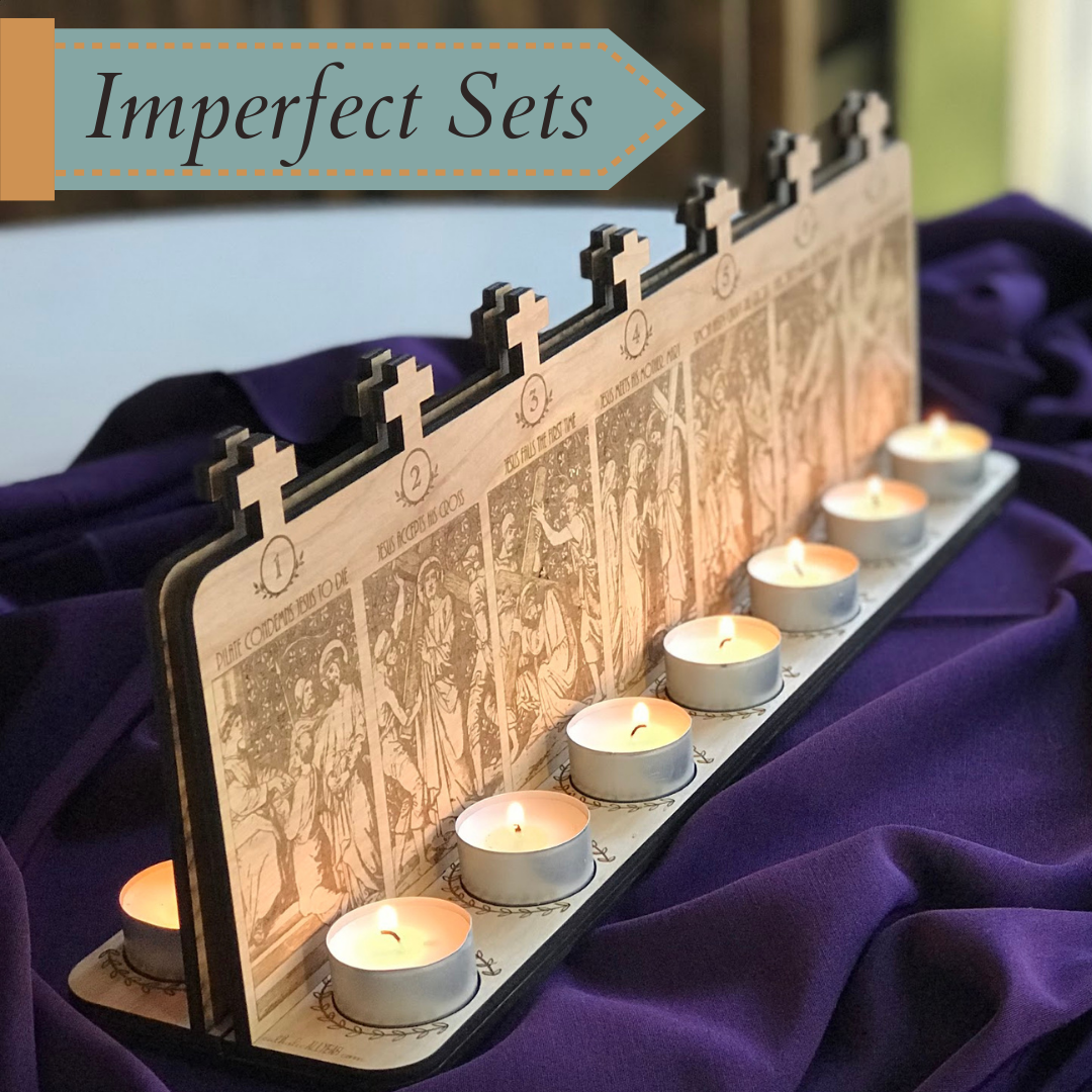 Tabletop Stations of the Cross [Imperfect Sets]