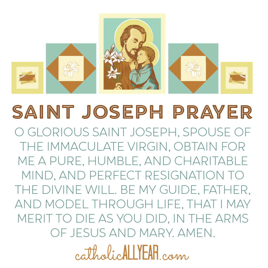 Free Printables for the Year of Saint Joseph and New Limited Edition Products for the Triduum