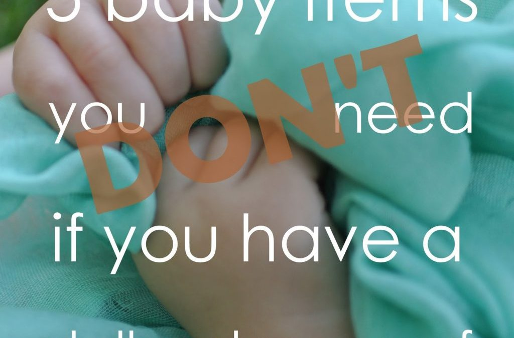 Five Baby Items You Don't Need if You Have a Dollar Store Scarf