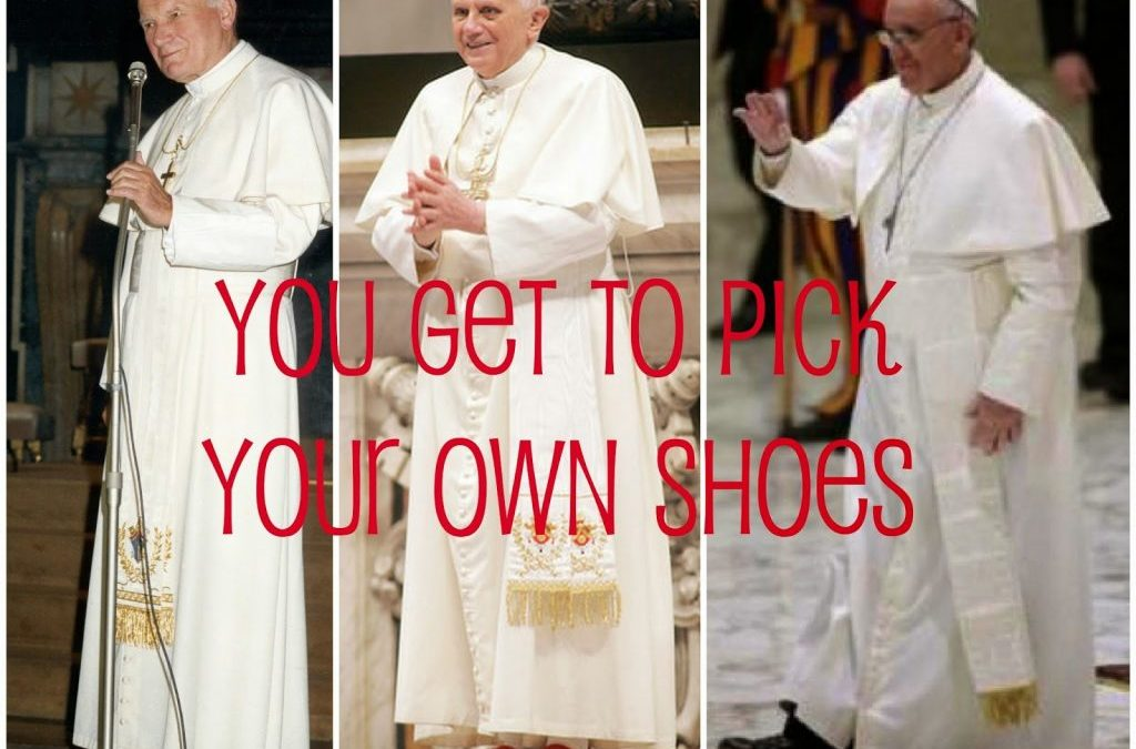 You Get to Pick Your Own Shoes: 7 Quick Takes V