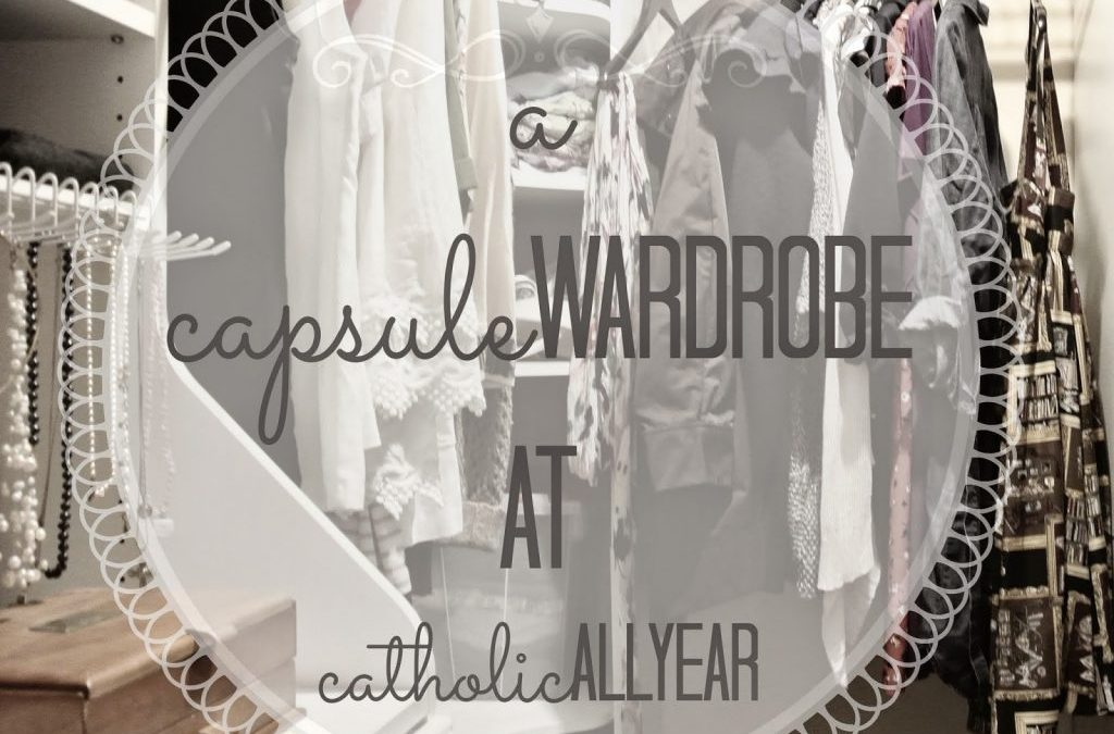 The Capsule Wardrobe Post In Which I Show You ALL My Clothing, 'Cause That's Totally Not Weird